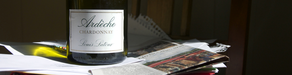 My go-to Chardonnay doesn't wear makeup and tastes great after the elementary school fundraiser. Photo by Marc Bouchet