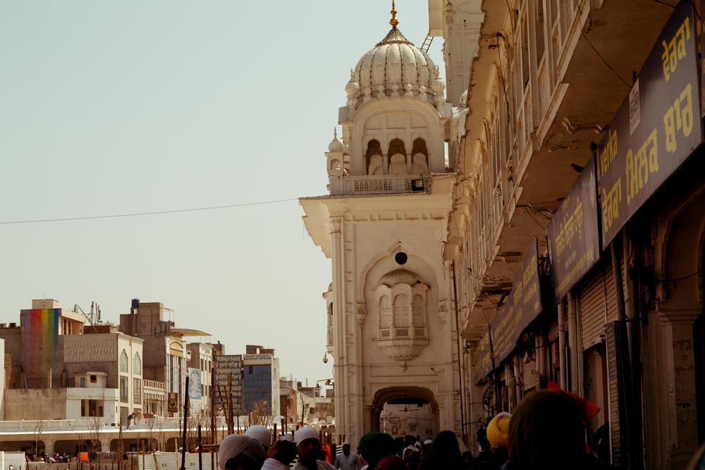 On foot in Amritsar.