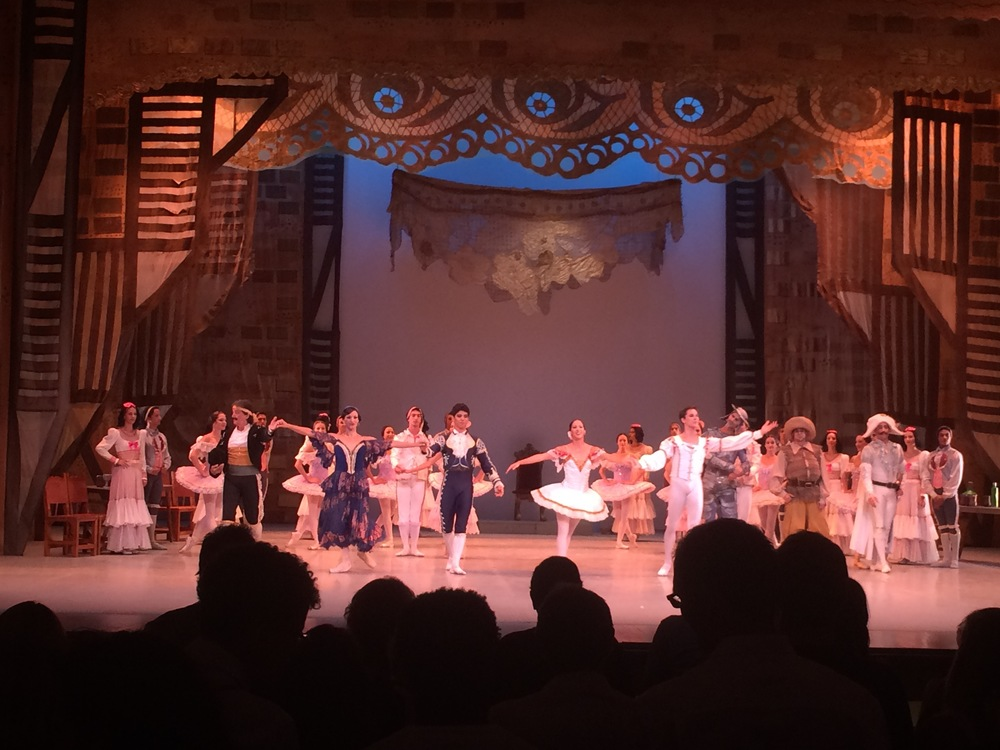 Cuban Ballet performance of Don Quixote