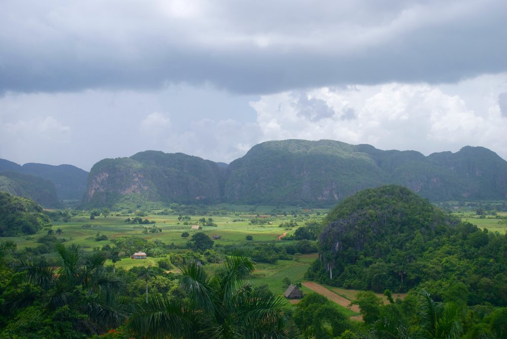 Day 4: Explore the Viñales valley and have lunch at the Mural of Prehistory before boarding the bus to Guanahacabibes National Park.