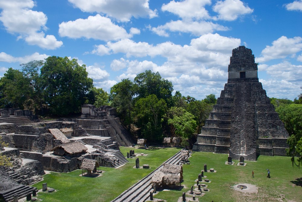 Day 3: Head across the Guatemalan border to visit the extraordinary Tikal National Park.