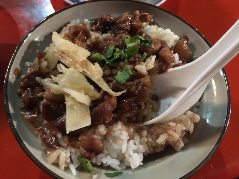 Stewed pork with Rice