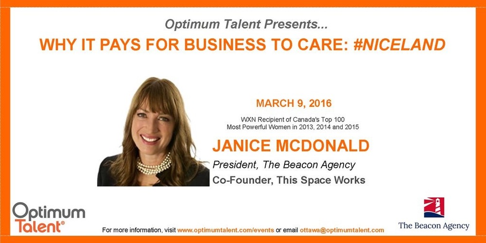 Optimum Talent Janice event