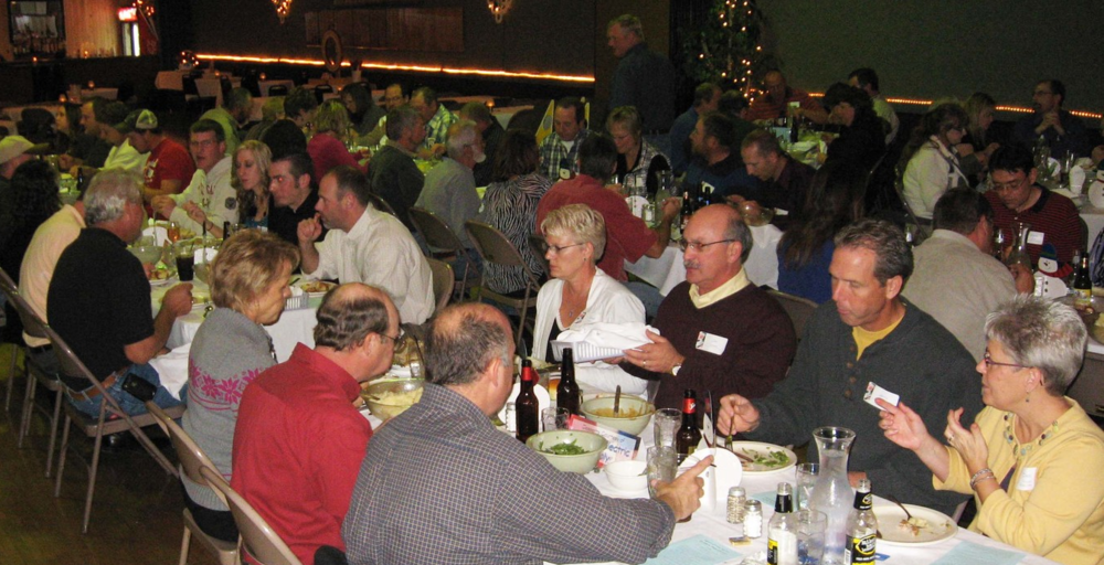 The annual HNBA Installation & Awards Banquet always draws a crowd and offers great networking opportunities