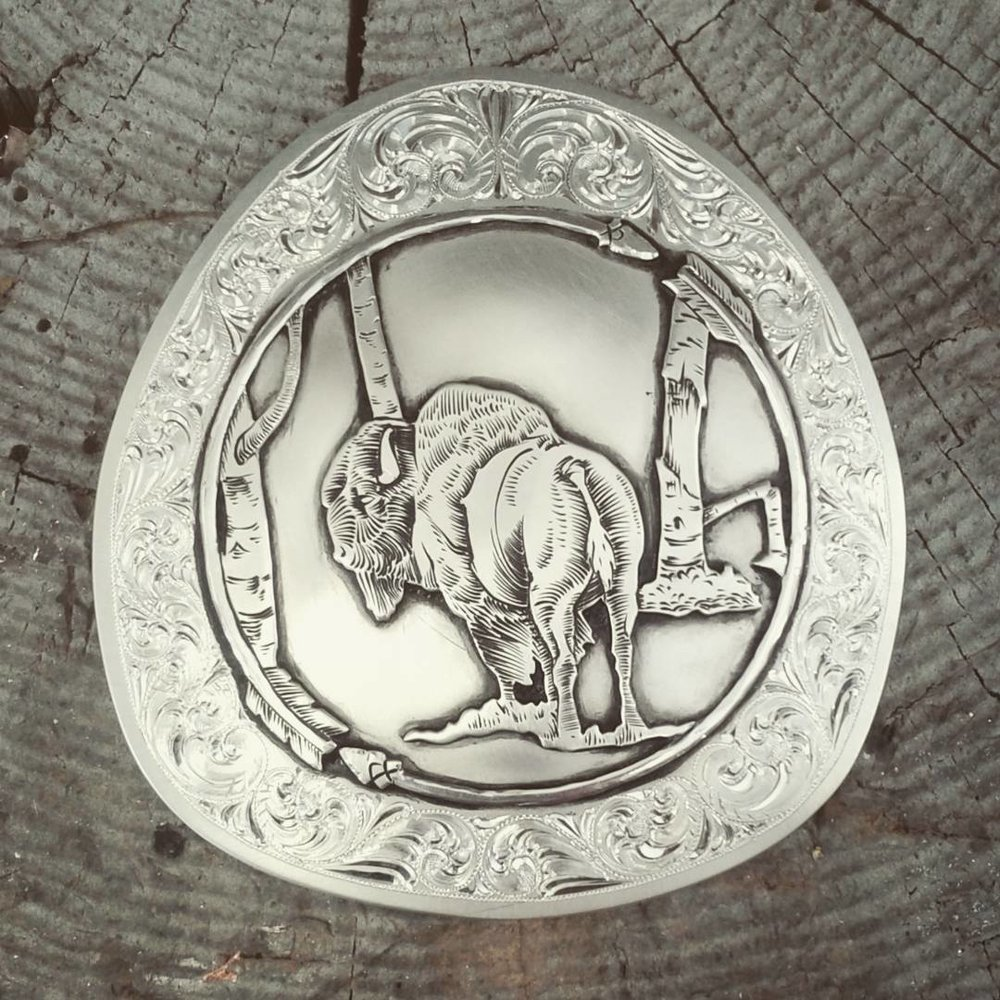 Tayte McRae's ability to draw and engrave both floral and real life animals/humans is something I admire for sure!! He is such a artist and not just in silver!! If you want the best Canadian maker its this guy! http://taytemcraesilver.wixsite.com/mcraesilver