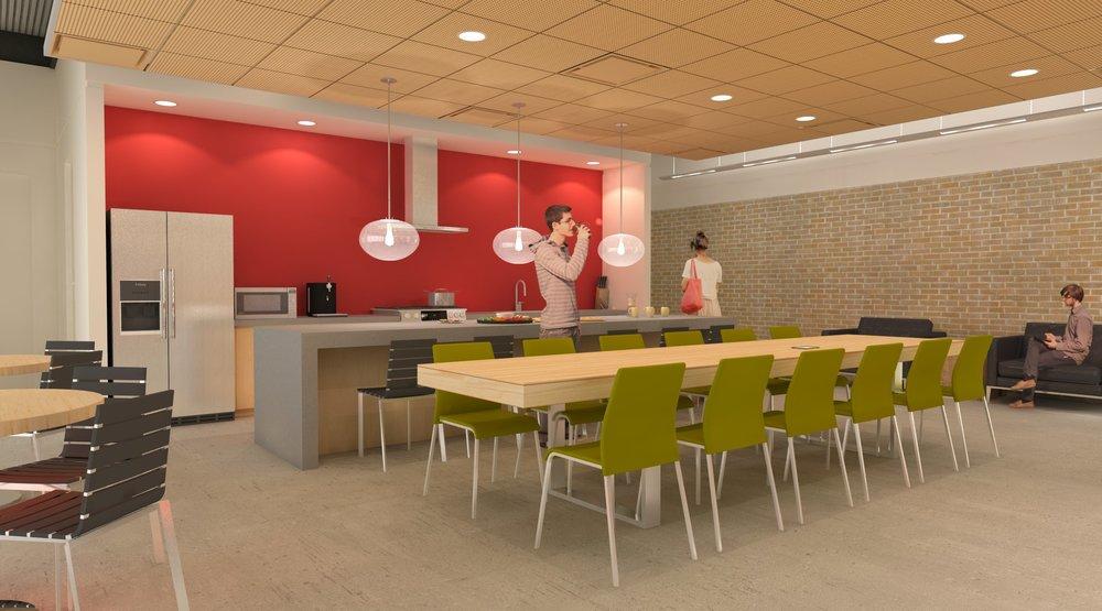 Break room rendering