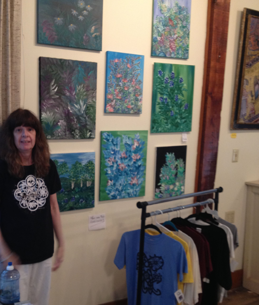 Artists of Laurel Park at our 2014 Chautauqua show.