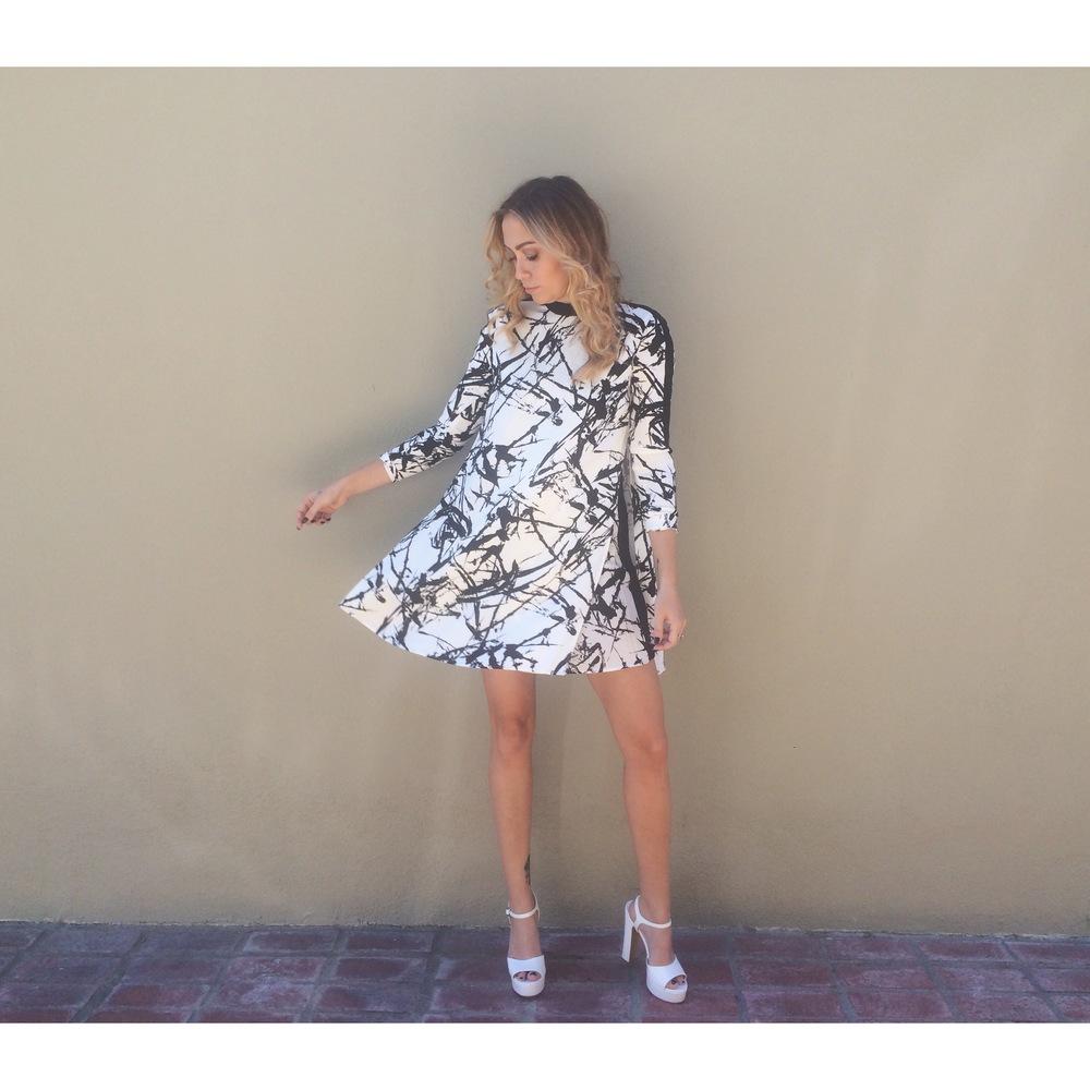 Dress -A.L.C. | Shoes - TopShop    || glam by Stella Kae + wardrobe by Jacqueline Rezak