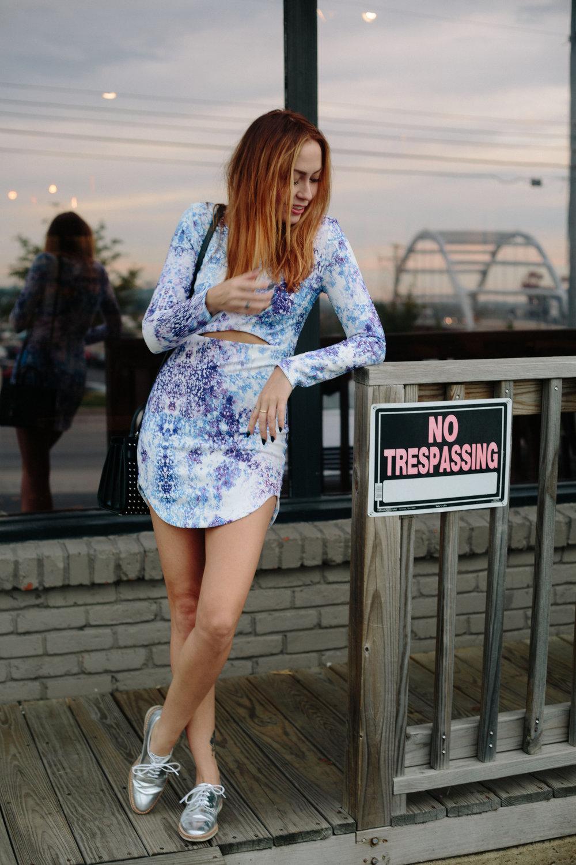 Dress - Soda Boutique | Shoes - Miista | Bag - Saint Laurent || photos by Susannah Brittany