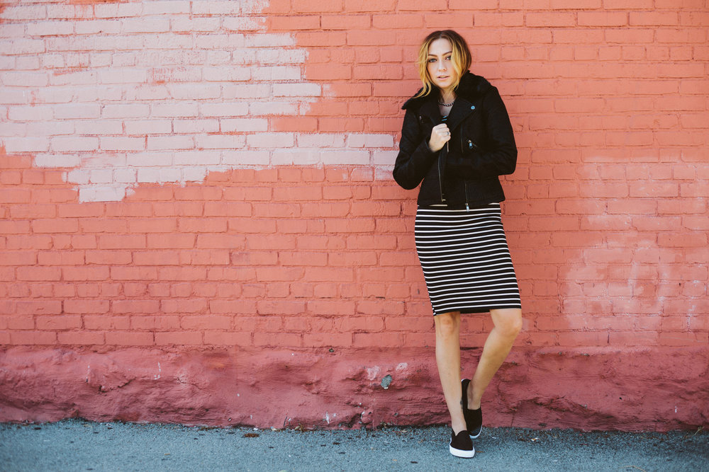 Jacket + Dress + Shoes - Alloy Apparel || photos by Susannah Brittany