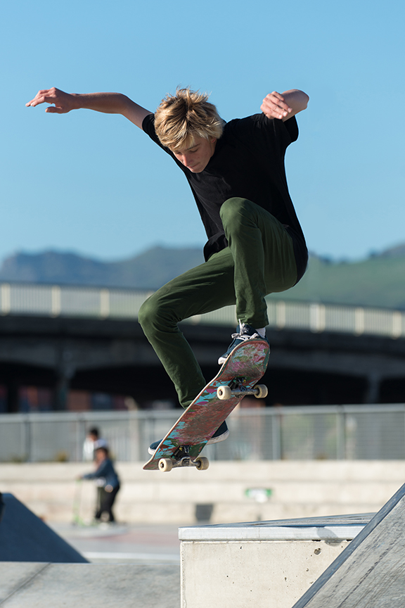 Auckland sports photography - skateboarding