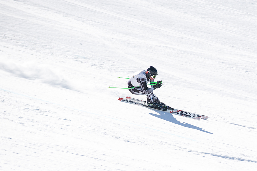 Auckland sports photography - skiing