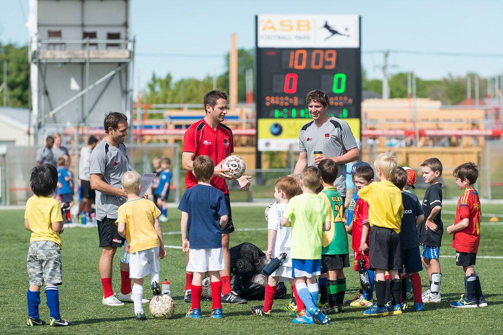 Canterbury United coaching clinic
