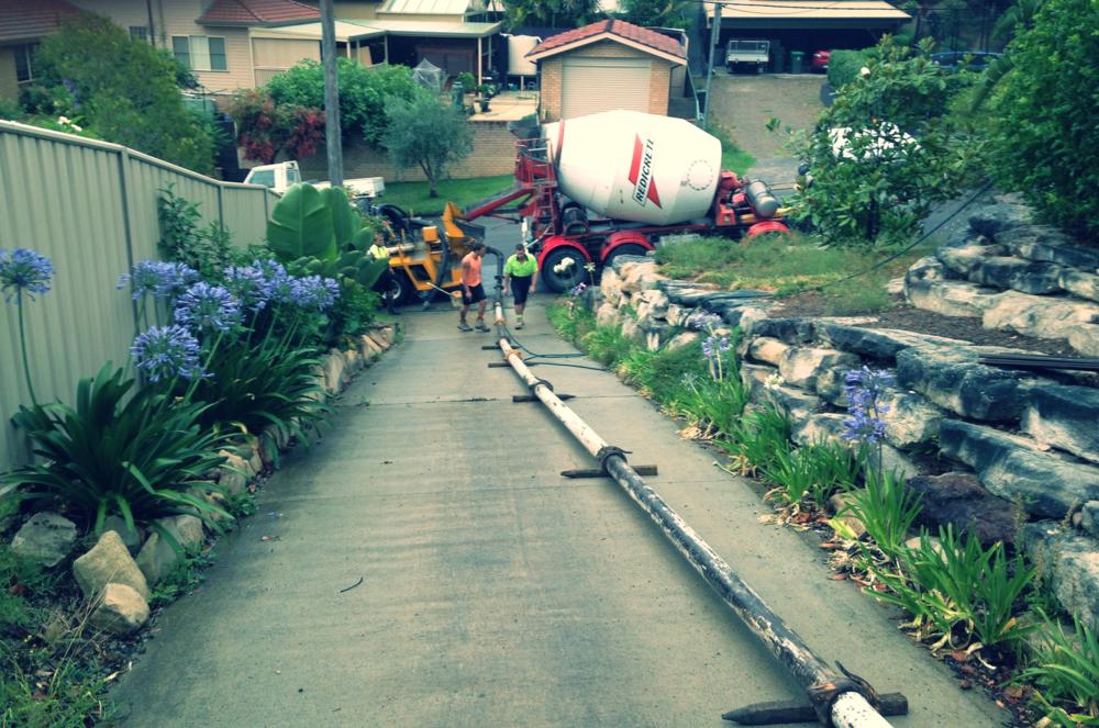 Allouts concrete pumps