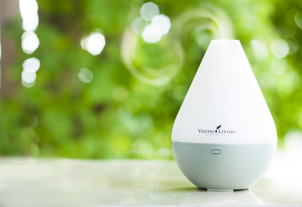 Young Living Essential Oils | Dewdrop Diffuser   $83.88  | $63.75 w/ membership