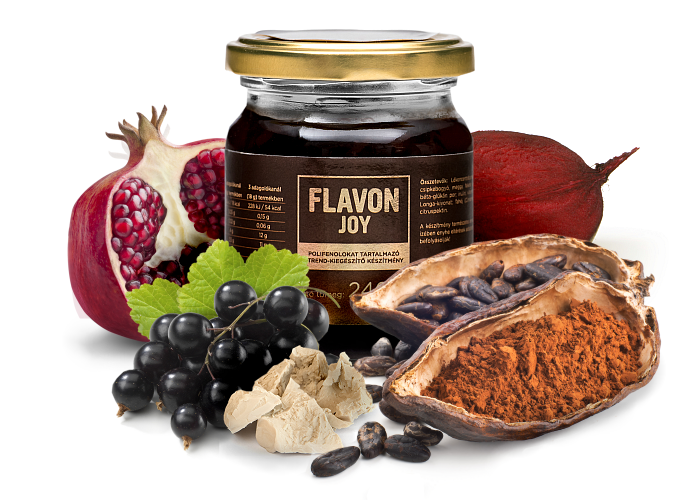 Flavon | Joy  $78 | $60 w/ membership discount  The fruit of the cocoa tree  has made this supplement the most joyful on the market. Keeping  Flavon 's signature gel-consistency that is beneficial for bioavailability, fruit, vegetables,  and spices w/strong synergetic interactions are merged, enhancing each others' effects. Therefore,  Flavon Joy  protects and pampers- a staple for all ages.