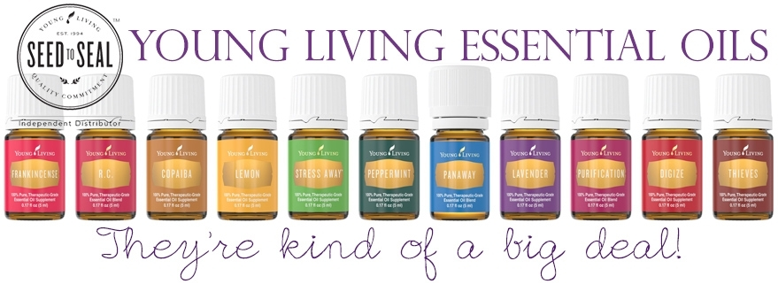 To sign-up for Young Living Essential Oils distribution, click the image!