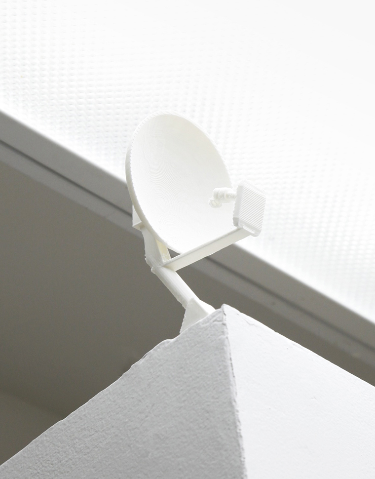 Satellite Dish , 3D Print, 2015