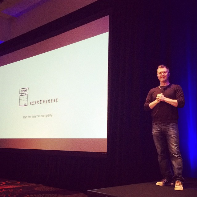 @bryanz from #Zurb describing how he started his business. #ownersummit by ownersummit.jpg
