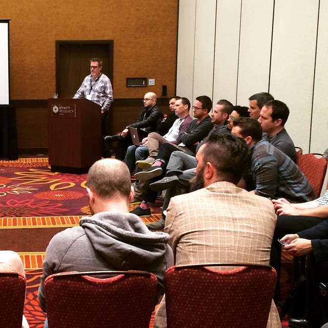 @hoyboy_ leading his camp discussion on teams! #ownersummit by ownersummit.jpg