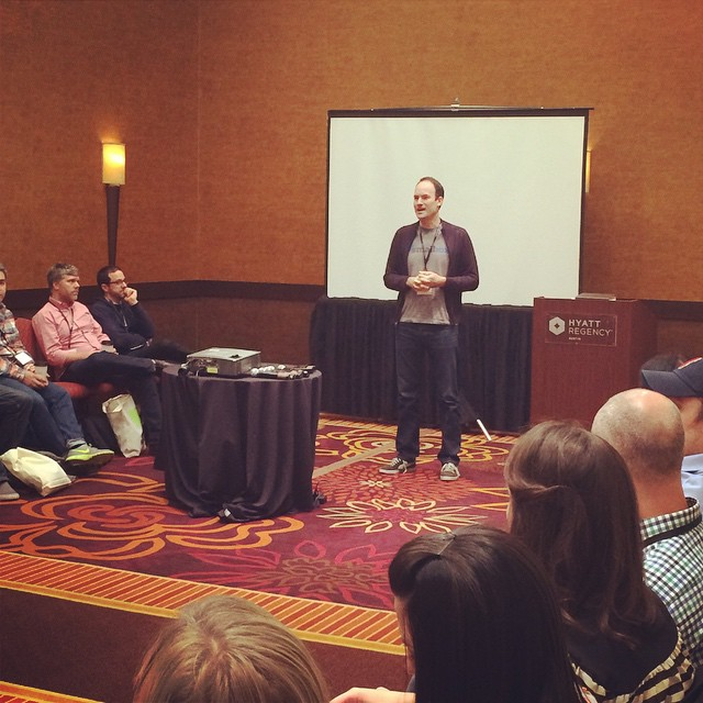 @jebbanner from #Smallbox shares company values during his breakout session. #ownersummit by ownersummit.jpg