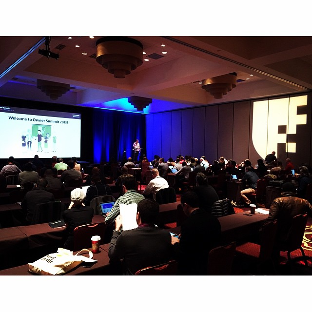 #ownersummit day one is under way. by brettharned.jpg