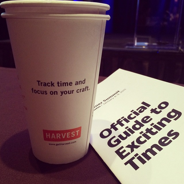 A big THANK YOU to Harvest for our coffee! #ownersummit by ownersummit.jpg