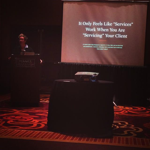 Great breakout session from Tracey Halvorsen of @fastspot #ownersummit by rheadrysdale.jpg
