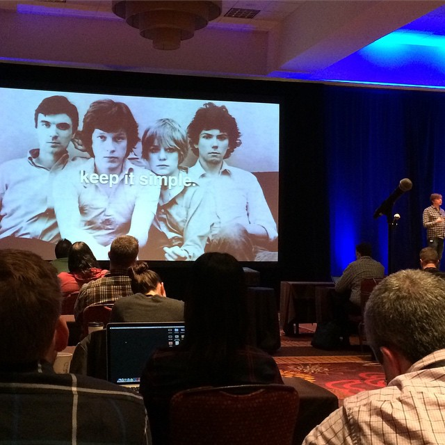 Keep it simple. #talkingheads #lullanot @ownercamp #ownersummit by afrotrash.jpg
