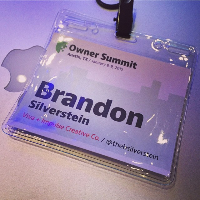 Super excited to be at Owner Summit in Austin! Great conference so far. #ownersummit by thebsilverstein.jpg