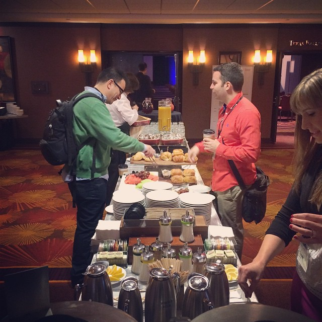 Time for breakfast! #ownersummit by ownersummit.jpg