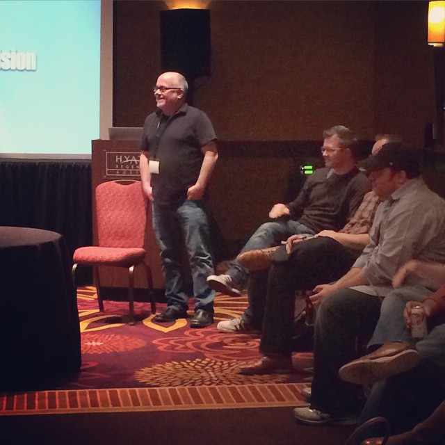 Warren Wilansky leading the discussion about embracing success within our companies. #ownersummit by ownersummit.jpg