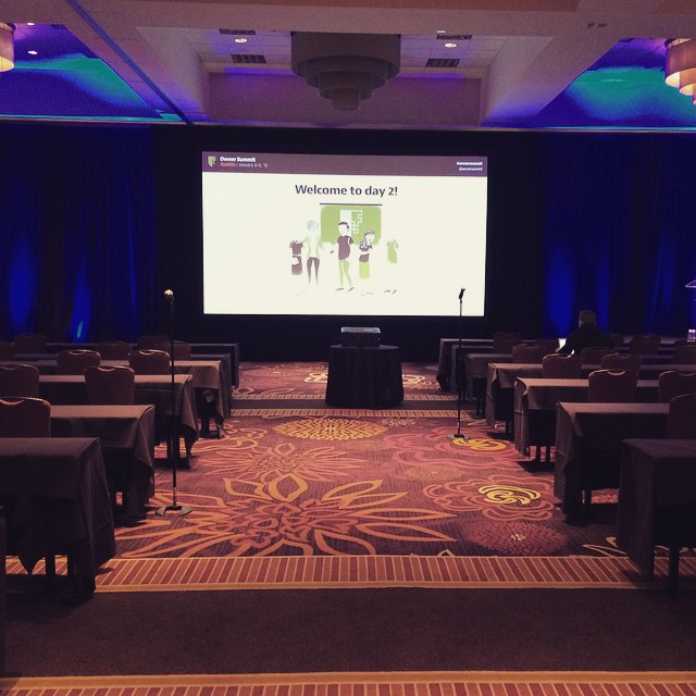 We are all set to start Day 2! #ownersummit by ownersummit.jpg