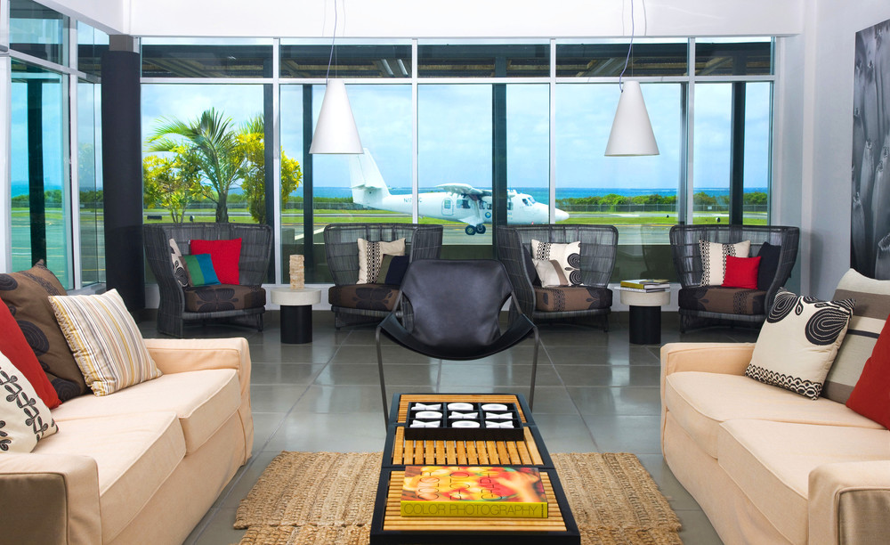 W Airport Lounge at Vieques Airport