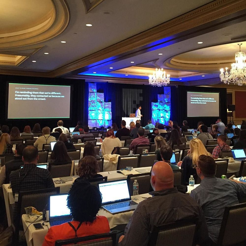 Dan Mall talks pricing design to wrap up day one #dpm2015 by digitalpmsummit.jpg