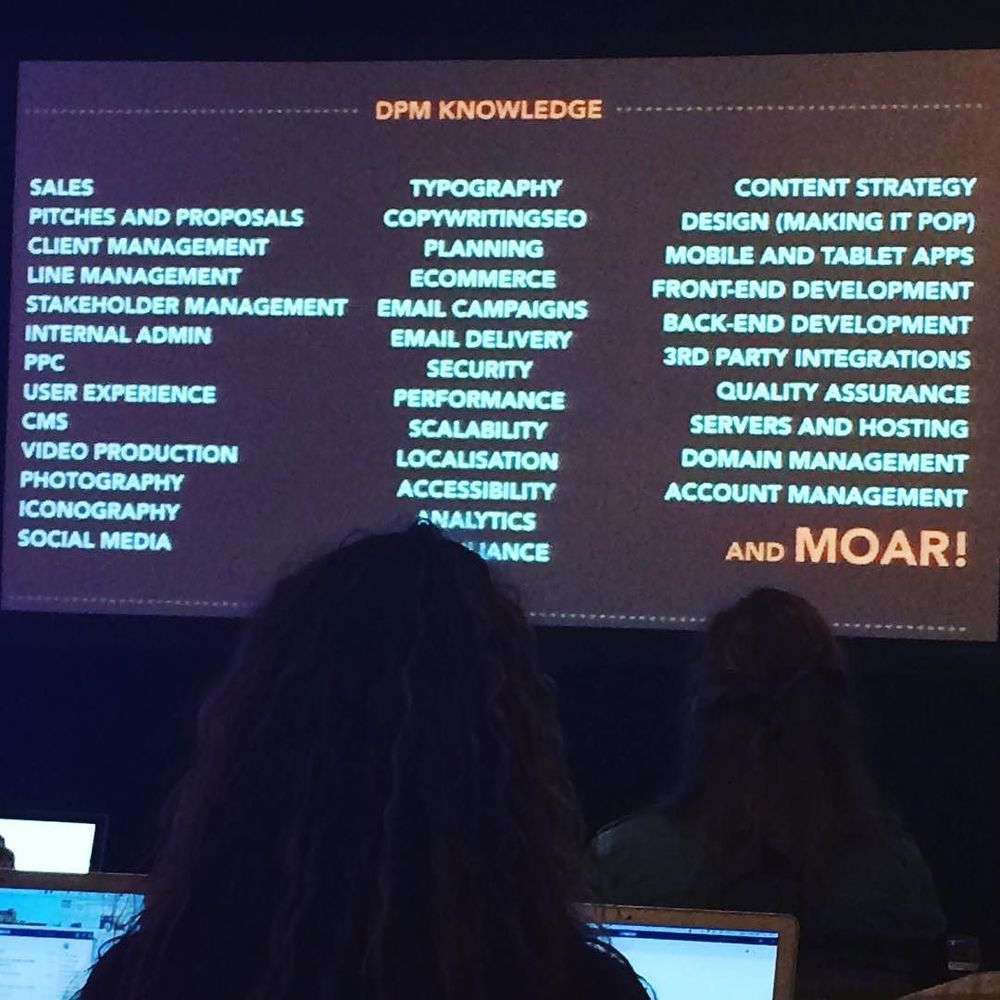 Everything the DPM needs to know - @thesambarnes #dpm2015 by ellendiamond.jpg