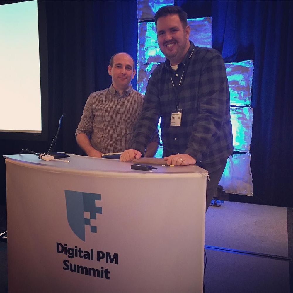 Having a great day #1 at @digitalpmsummit. #dpm2015 by brettharned.jpg