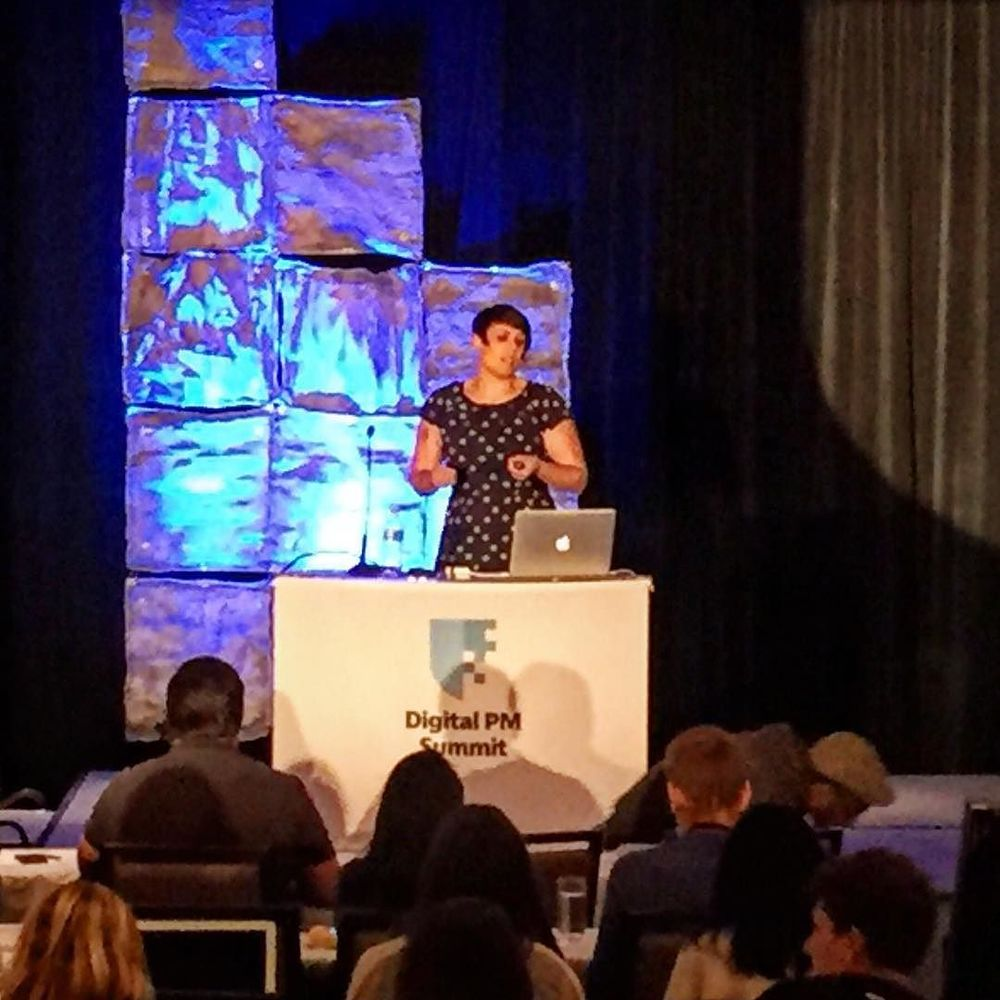 Sara Wachter-Boettcher on managing the Content process #dpm2015 by digitalpmsummit.jpg