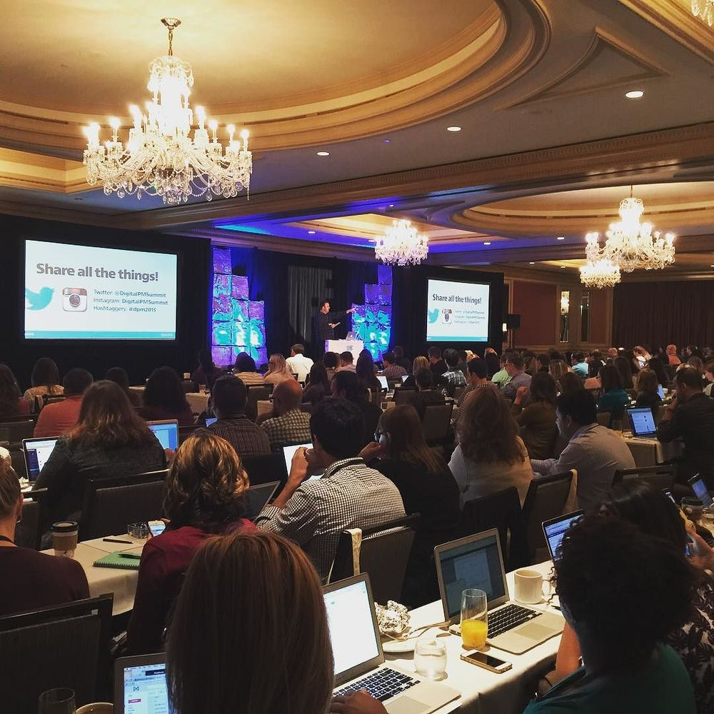 Welcome to the 2015 @digitalpmsummit! It's the day of the show yall! #dpm2015 by carlwsmith.jpg