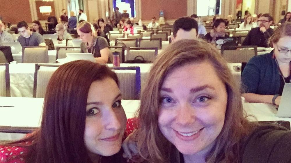 Who DOESN'T take pre-panel #dpm2015 selfies! by talkanatalka.jpg