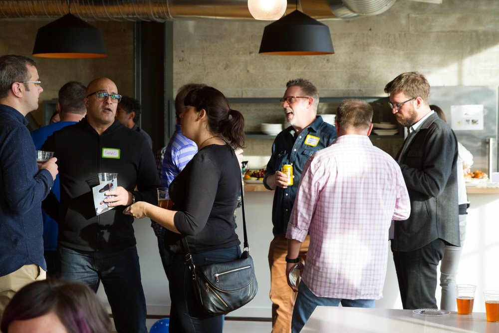 Opening Night Social, Digital PM Summit, 2015