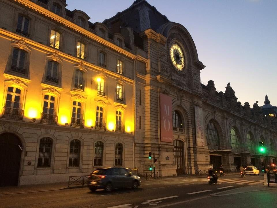 The Orsay Museum - in Paris, France