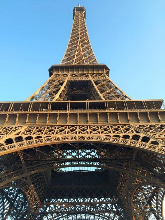 Big tower in middle of Paris. Pretty noticeable. - in Paris, France.