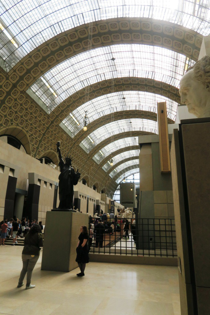 Then it was on to the Musee de'Orsay