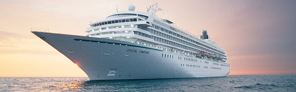 The luxurious 50,000-ton, 922-guest Crystal Symphony is one of the most spacious cruise ships at sea, joining Crystal Serenity in the top two spots among Condé Nast Traveler's best ships in the world.