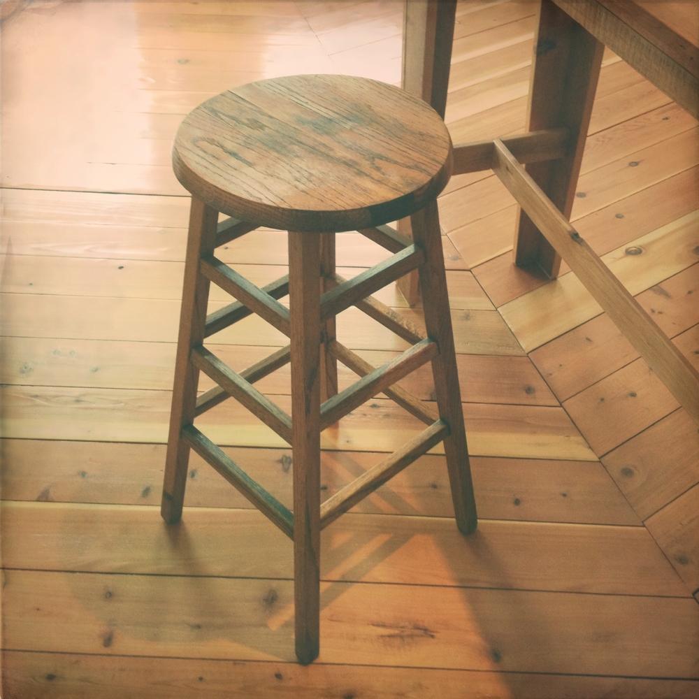 reworked swap meet stool