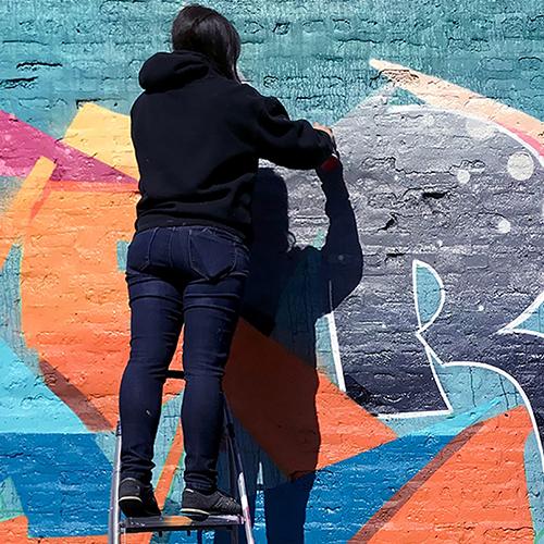 MISS MERLOT |  GRAFFITI ARTIST