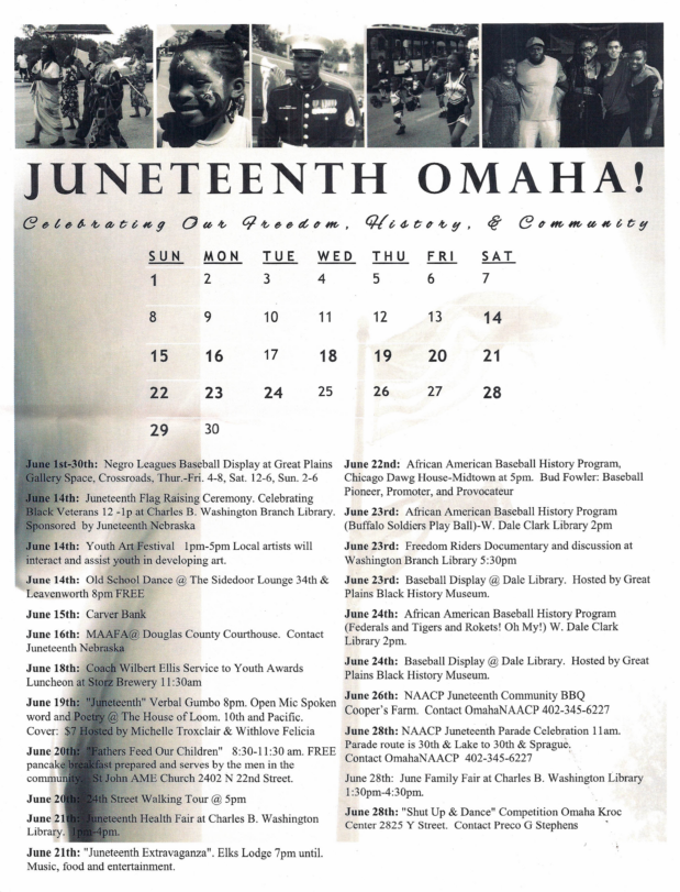 CELEBRATE JUNETEENTH THROUGHOUT JUNE