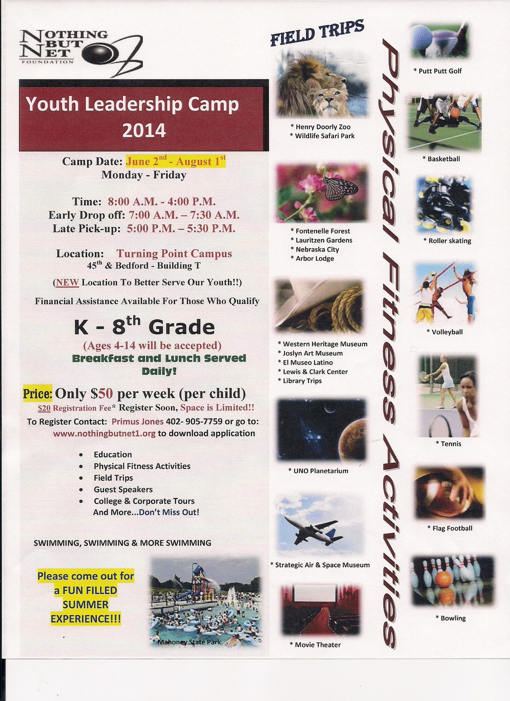 Youth Leadership Camp