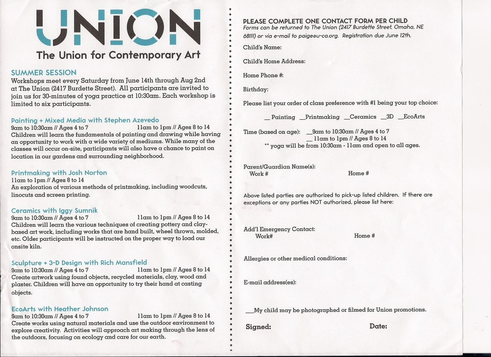 The Union for Contemporary Art